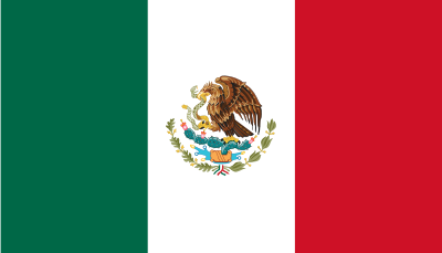 Flagget til Mexico